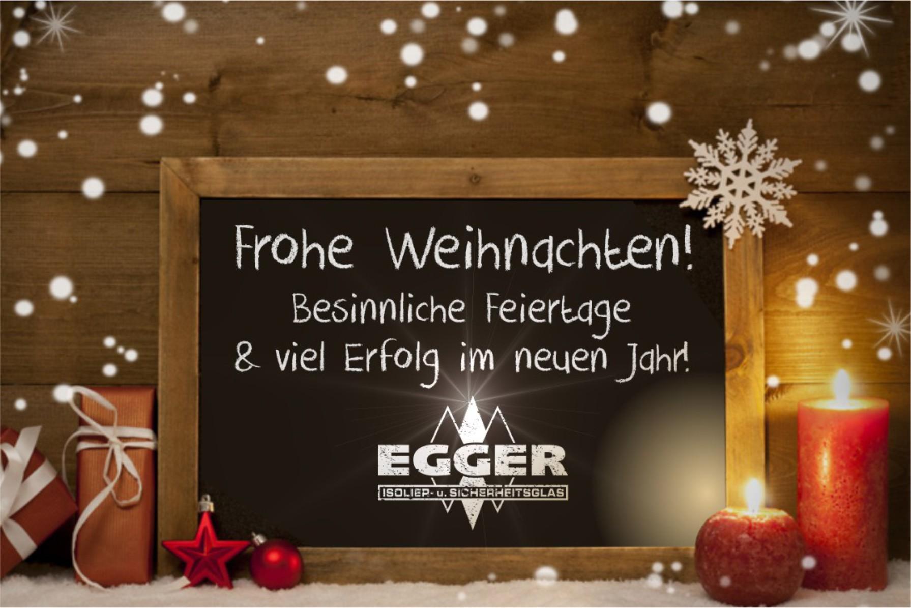 Frohe Weihnachten Besinnlich.Frohe Weihnachten Egger Glas